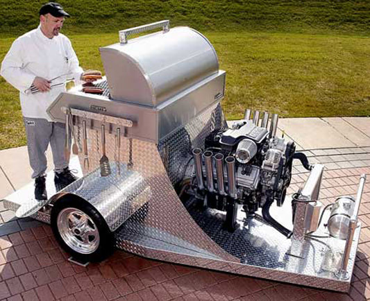Visual of Jet Powered Barbecue