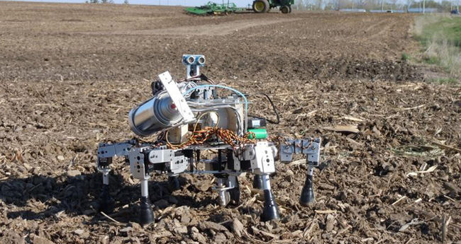 Visual of Let the Robotic Farmers feed the World