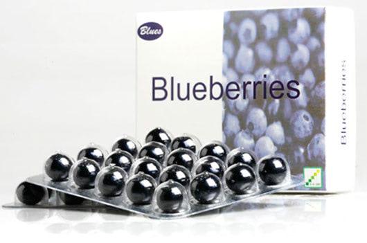 Visual of Medicinal Blueberries