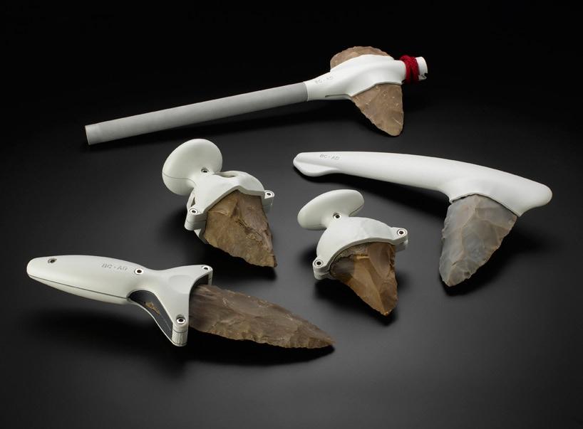 Visual of Modern Flint Tools