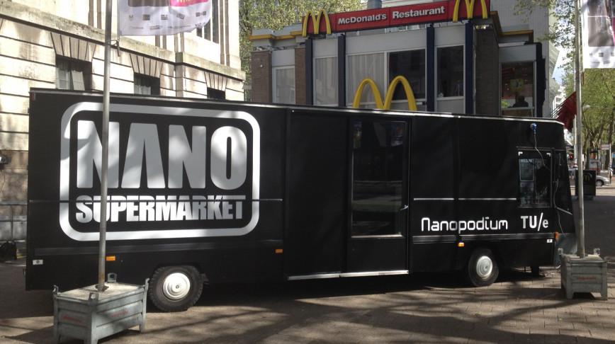 Visual of NANO Supermarket in Rotterdam