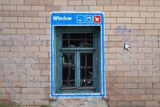 Visual of Old Window