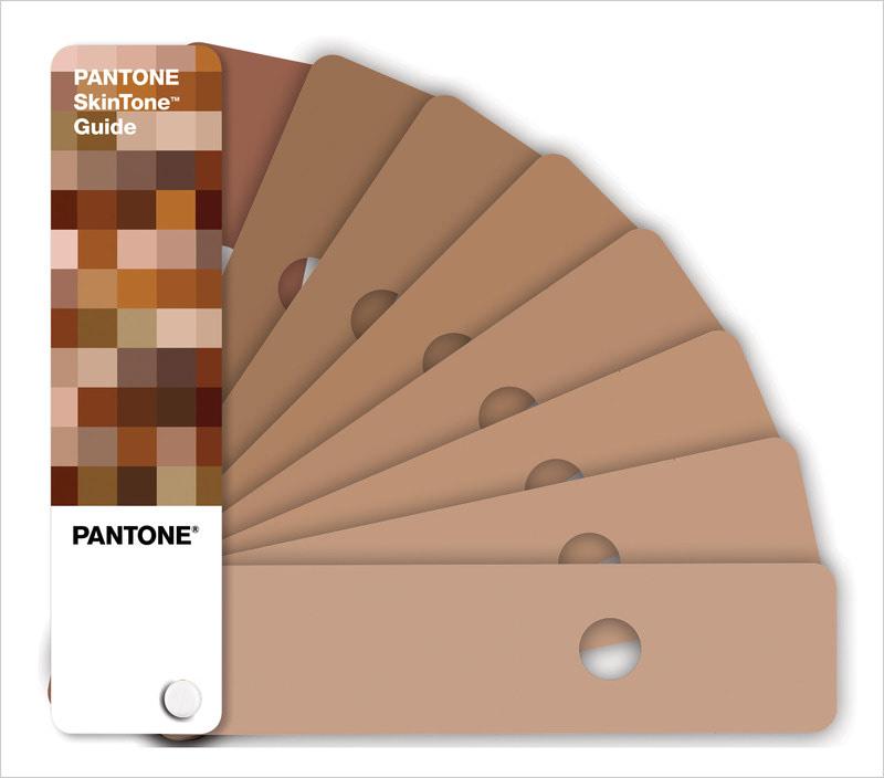 Visual of Pantone SkinTone