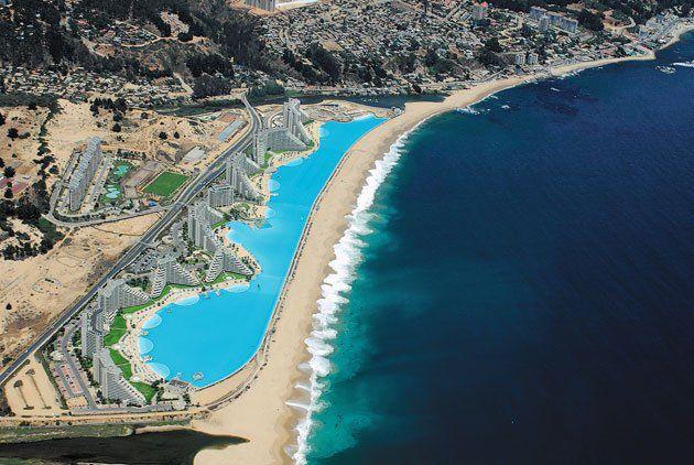 Visual of Seaside Swimming Pool