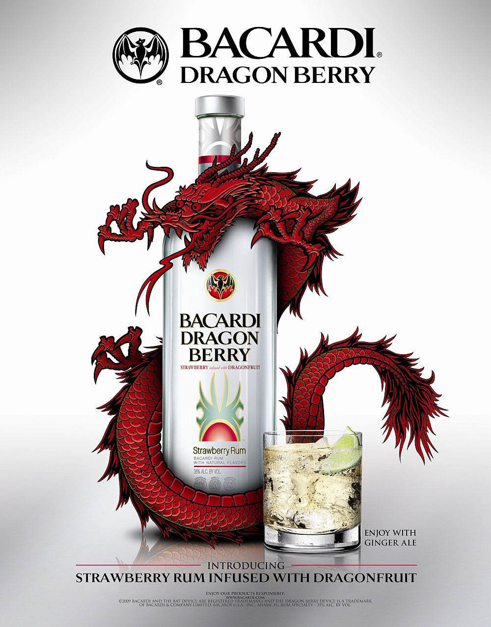 Visual of Selling Rum with Dragons, Berries & Bats