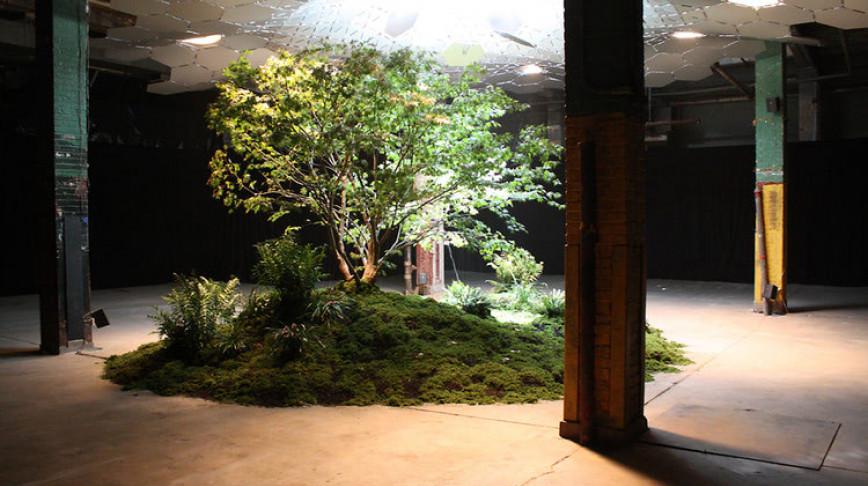 Visual of LowLine Puts Park Beneath New York