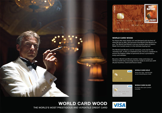 Visual of Featured Page #06: World Card Wood (Infotizement)