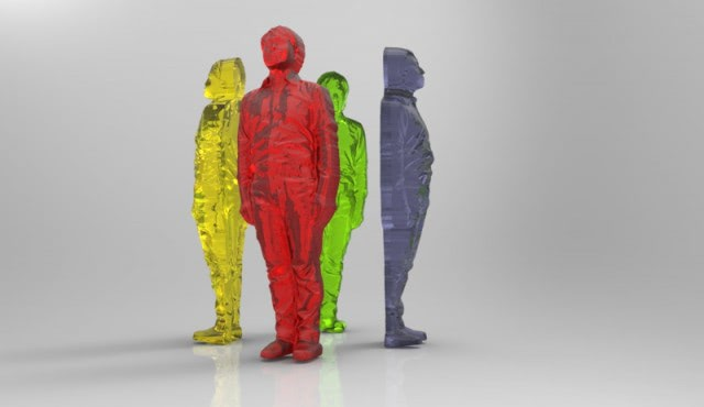 Visual of 3D Print Your Body in Gummy Candy