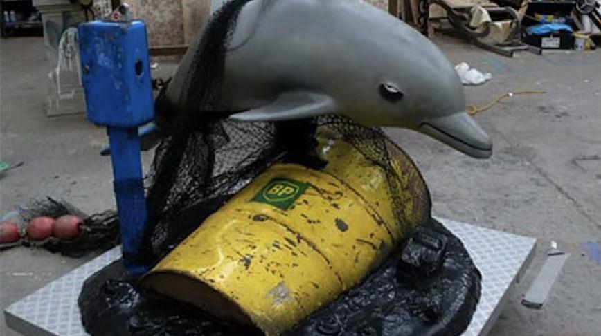 Visual of Anti-BP Diseased Dolphin Ride