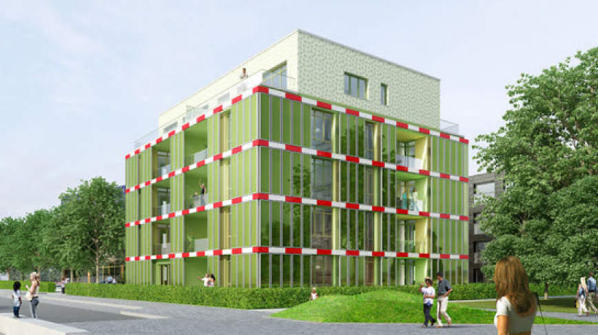 Visual of Building Grows Its Own Energy from an Algae-Farming Facade