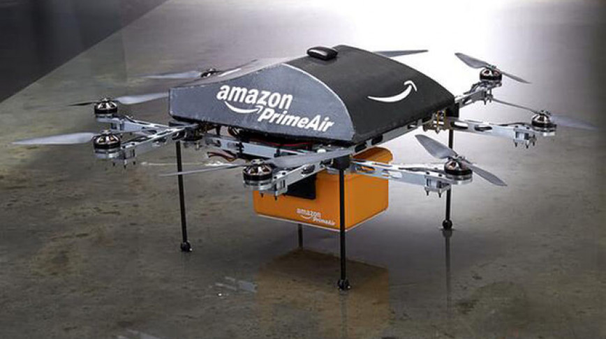 Visual of Delivery Drones Are Coming