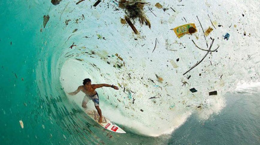 Visual of Dirty Ocean