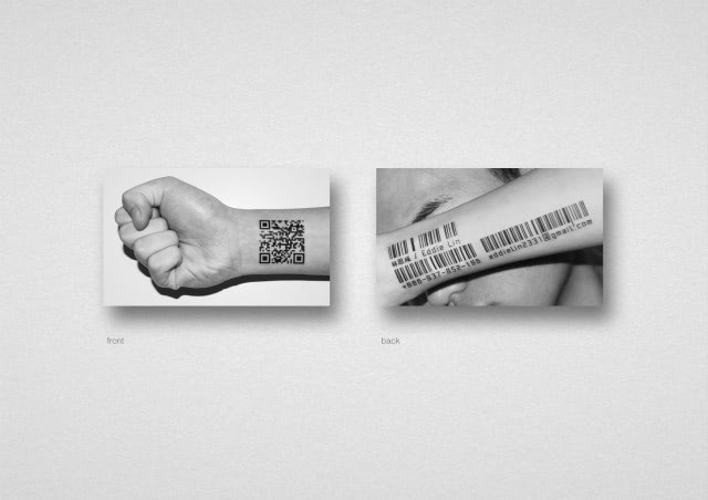 Visual of Tattoos that Make Everyone a Product