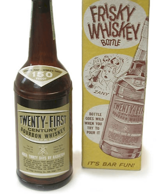 Visual of Frisky Whisky: Radioactive Booze from the Atomic Age
