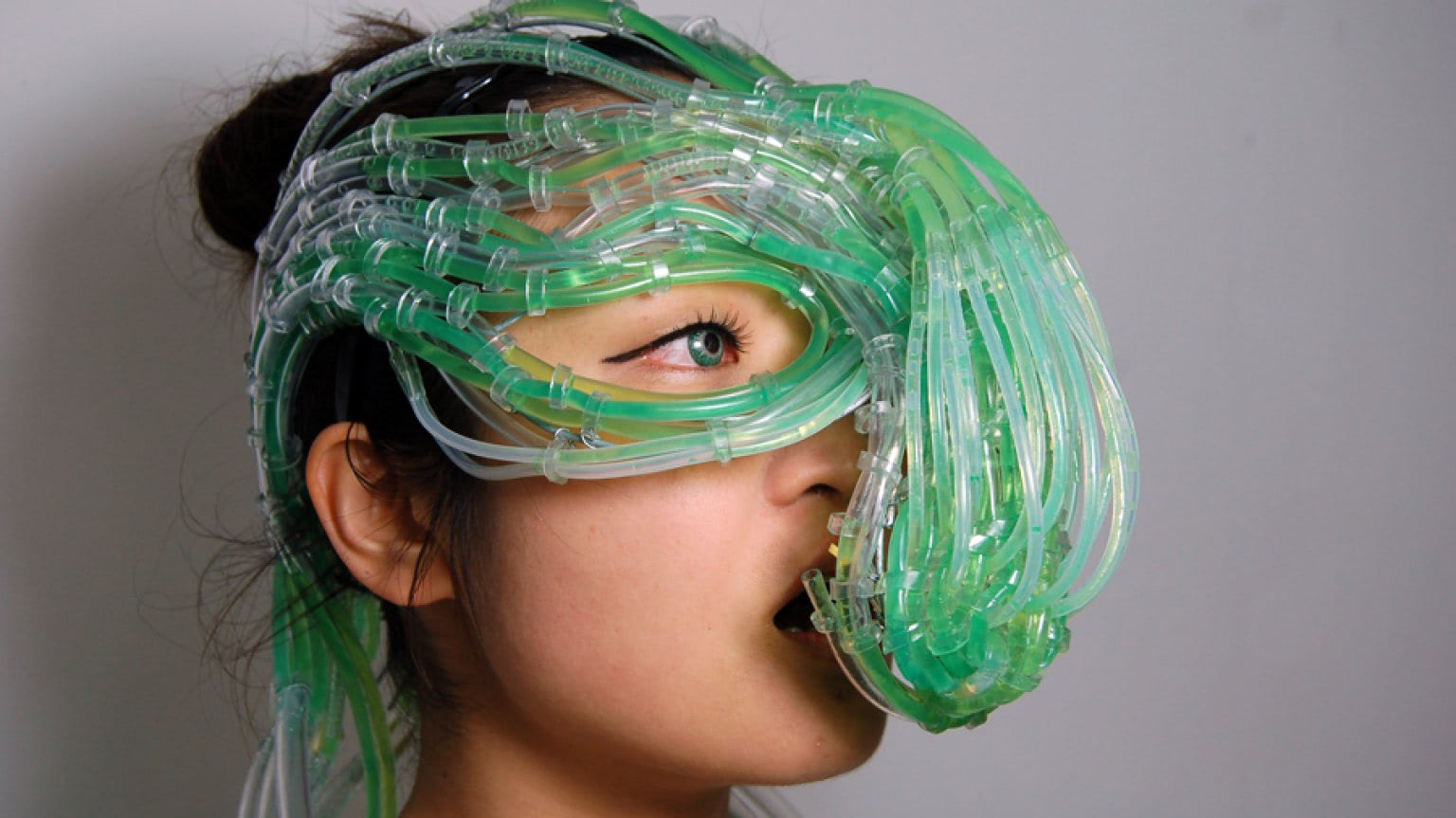 Visual of Fuel Your Body With Algae Headgear