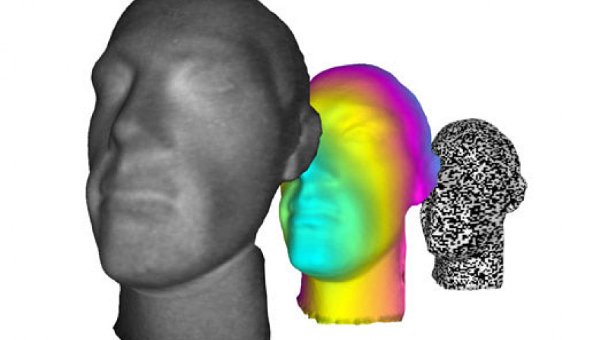 Visual of Ghost Imaging: Taking Pictures of the Invisible Thanks to a New 3D Technique