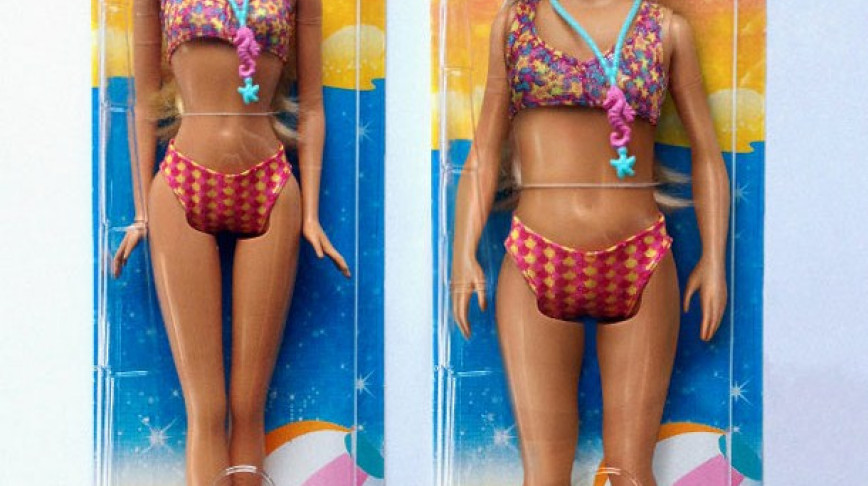 Visual of If Barbie Had Human Proportions