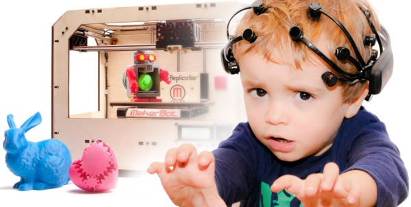 Visual of 3D Print Your Thoughts