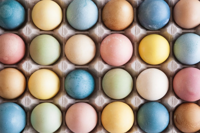 Visual of Making Fake Eggs to Beat the Real Thing
