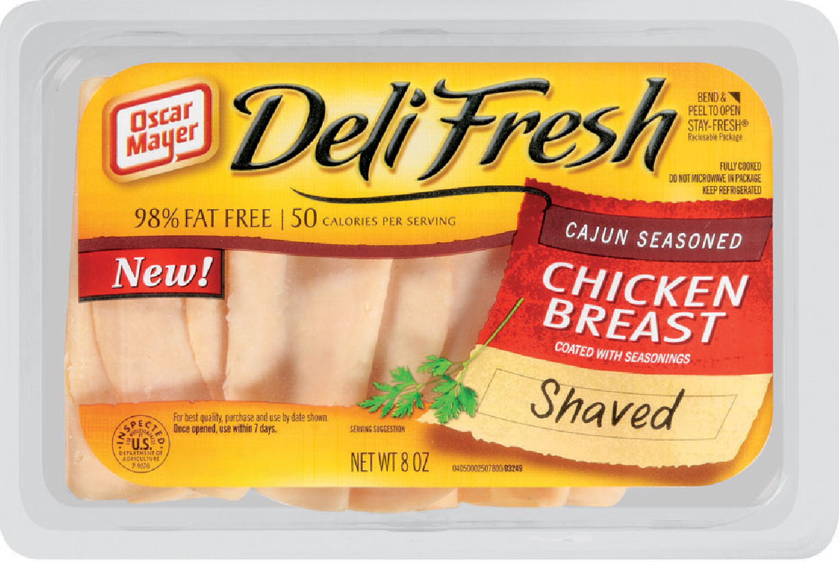Visual of Manufacturing Imperfection in Processed Luncheon Meats