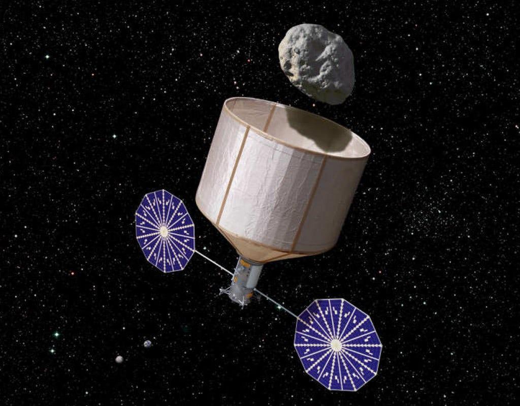 Visual of NASA Might Give the Moon a Mini-Moon