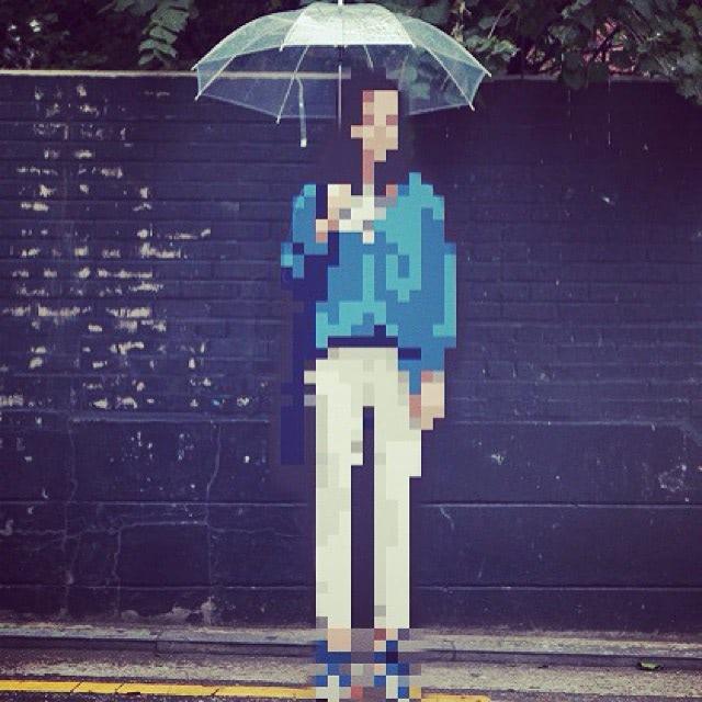 Visual of Pixel Nostalgia Leads to Digital Pointillism