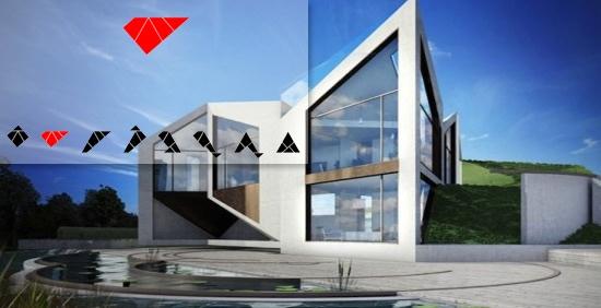 Visual of Shape-Shifting House Acts like a Flower