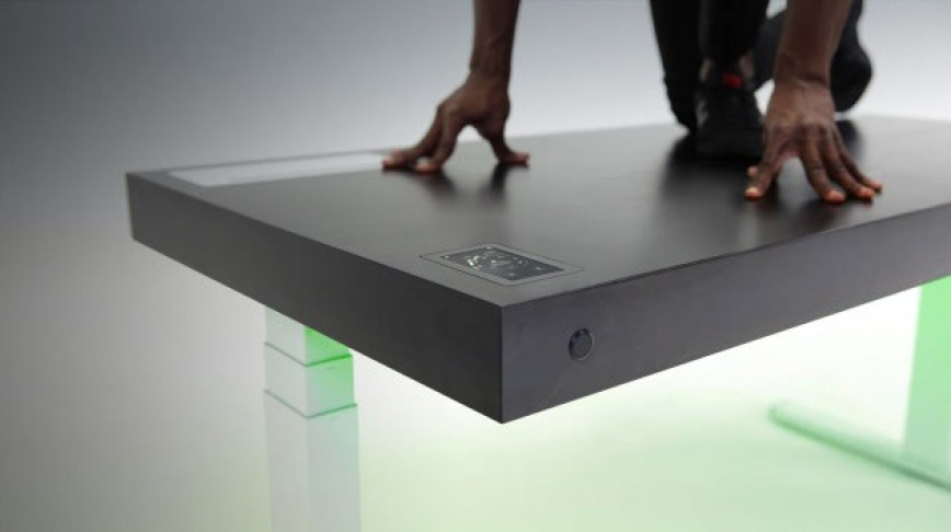 Visual of The Smart Desk: Exercise While Working