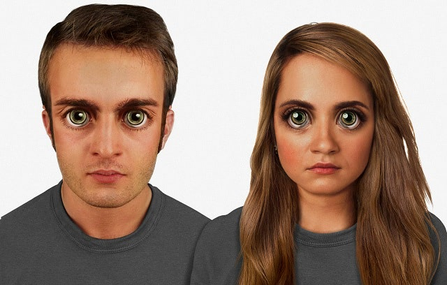 Visual of What Will We Look Like in 100,000 Years?
