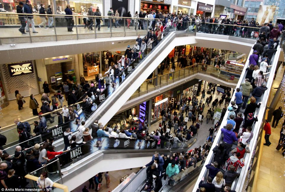 Visual of Why Shopping Malls Are Confusing