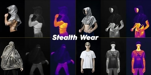 """Visual of With """"Stealth Wear"""", Hide from Unmanned Drones in Style"""