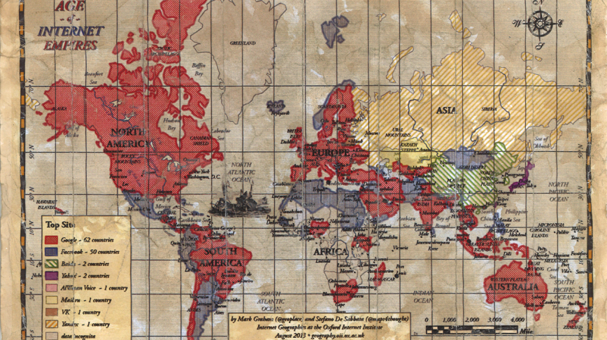 Visual of Age of Internet Empires
