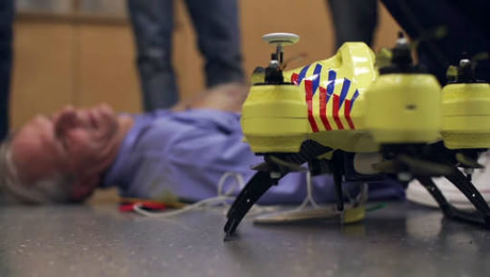 Visual of Ambulance Drone