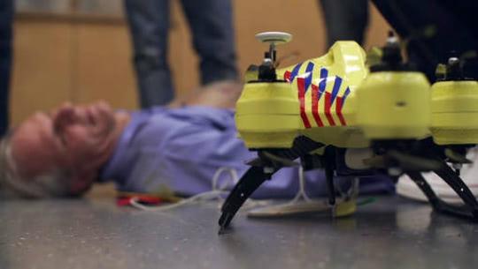 Visual of Ambulance Drone
