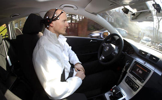 Visual of BrainDriver: the Mind Controlled Car