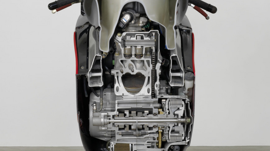 Visual of Dissected Motorcycle