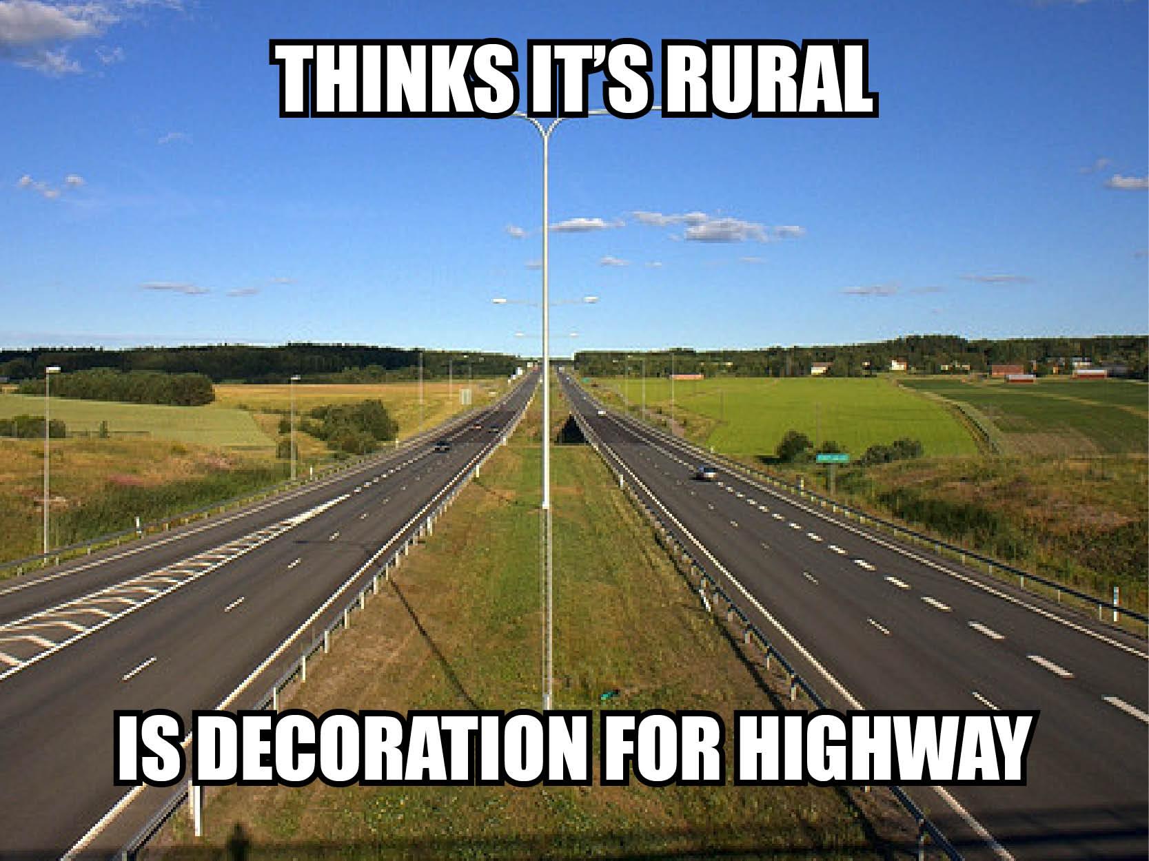 Visual of Highway Decoration