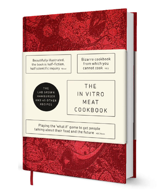 Visual of In Vitro Meat Cookbook to be Launched