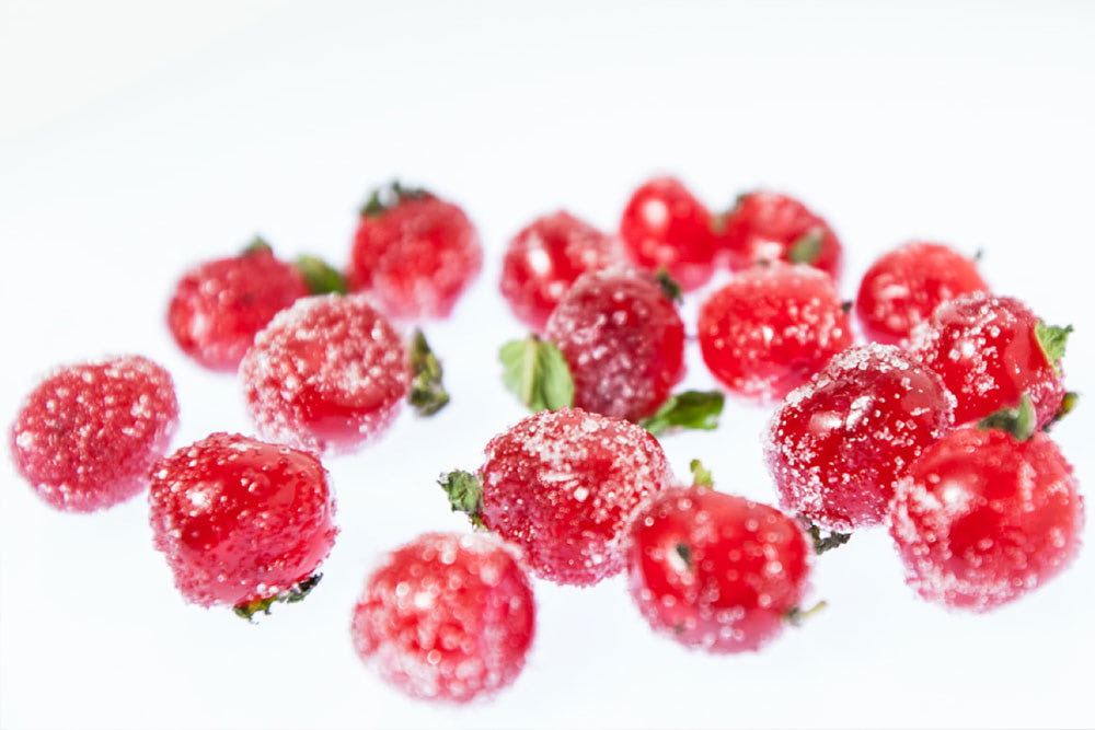 Visual of In Vitro Recipe #11: Meat Fruit