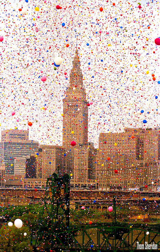 That Time Cleveland Released 1.5 Million Balloons and Chaos Ensued6
