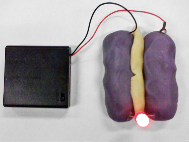 Visual of Learning Circuits While Playing With Clay