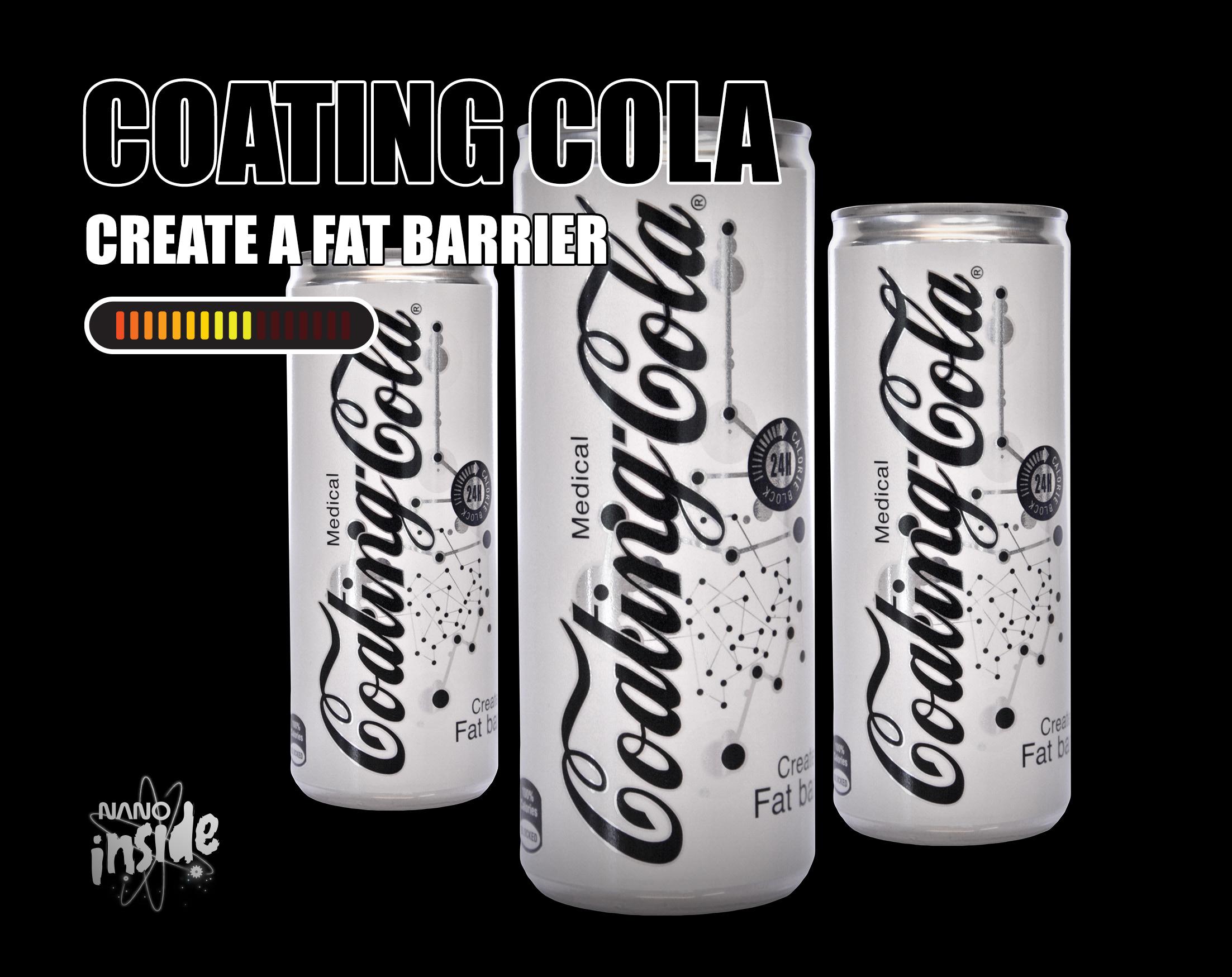Visual of Nano Product: Coating Cola