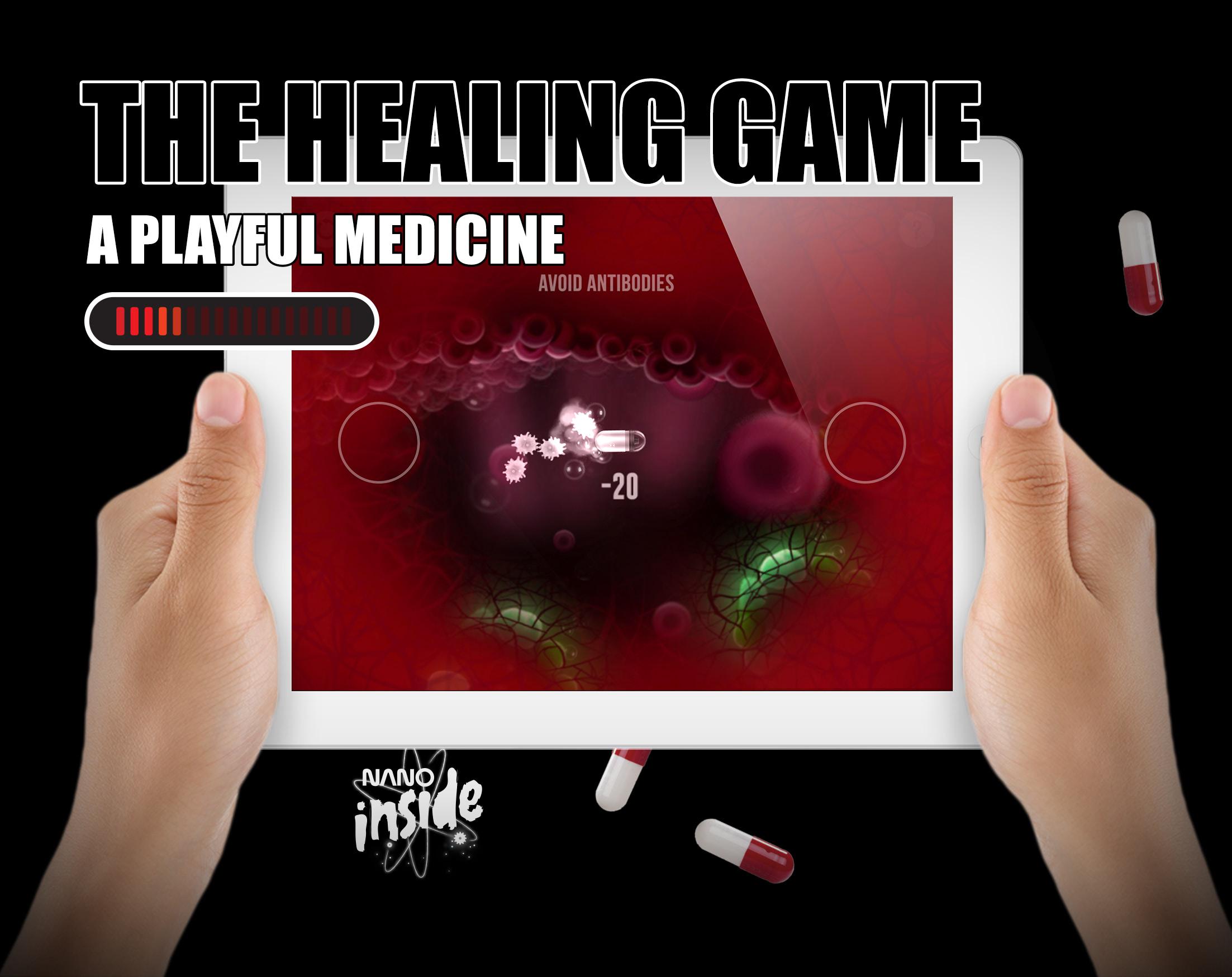 Visual of Nano Product: The Healing Game