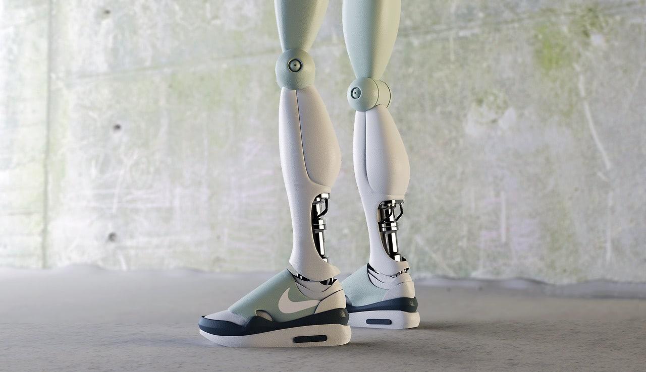 Visual of Nike Robotic Sneakers