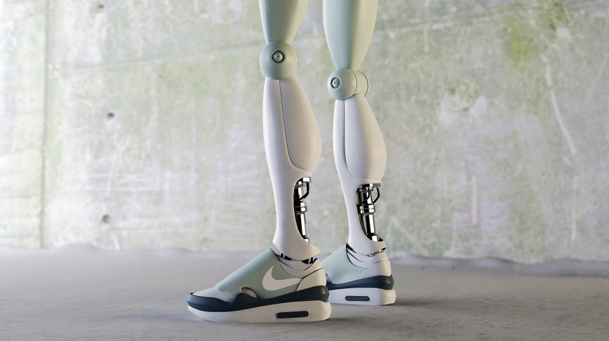 Visual of Nike Robotic Sneakers