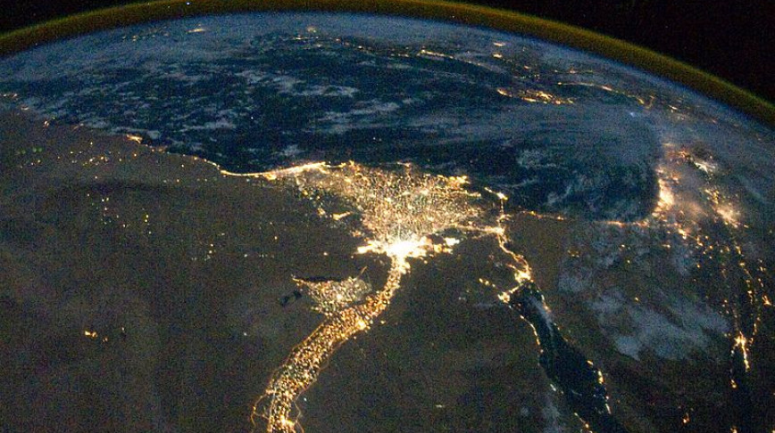 Visual of Nile by Night