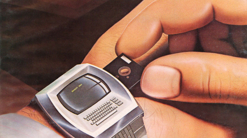 Visual of Retro-Futuristic Smartwatch