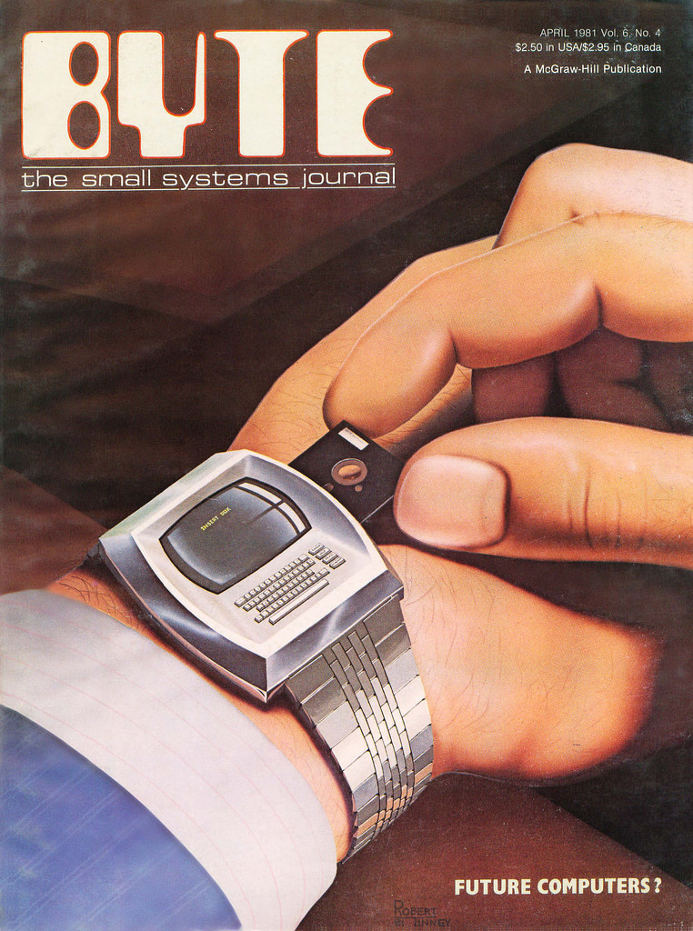 Visual of Retro-Futuristic Smartwatch