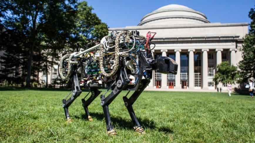 Visual of Robot Cheetah Now Runs Free