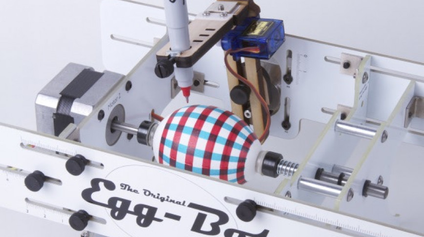Visual of Robotic Easter Egg Decorator